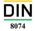 استاندارد DIN 8075 آزمون کیفی لوله های پلی اتیلن