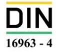 استاندارد DIN 16963 4 مشخصات هندسی فلنج پلی اتیلن