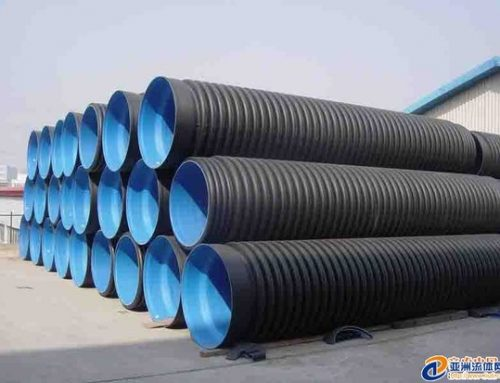 STORAGE OF DOUBLE WALL PIPE