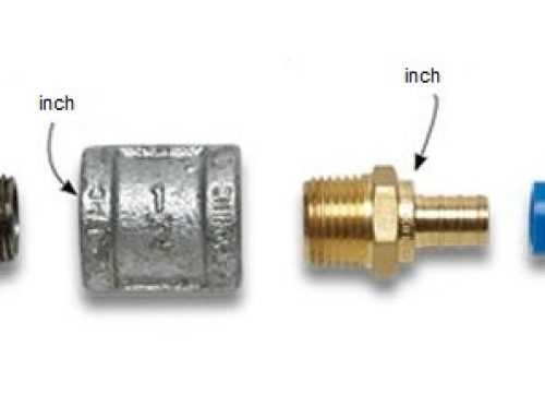 تبدیل واحد میلیمتر و اینچ در لوله و اتصالات پلیمری