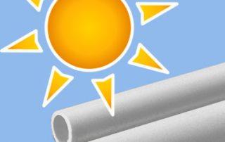 تاثیر عوامل جوی بر لوله و اتصالات PVC