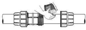 راهنمای نصب اتصالات پیچی پلی اتیلن